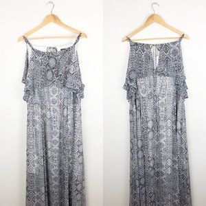 Torrid Ikat Print Maxi Dress